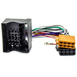 Radio-Adapter-Kabel-fuer-PEUGEOT-207-307-407-607-ISO-Autoradio