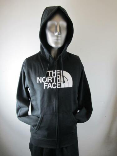 NEW MEN/'S NORTH FACE HALF DOME FULL ZIP HOODIE CH2LKY4 BLACK//WHITE