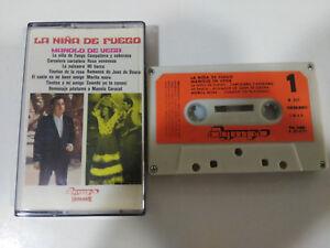 LA NIÑA DE FUEGO MANOLO DE VEGA FLAMENCO - CINTA TAPE CASSETTE 1975 PAPER LAB