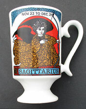Royal Crown Arnart Smug Mugs Zodiac Sagittarius Coffee Cup Mug Astrology Vintage