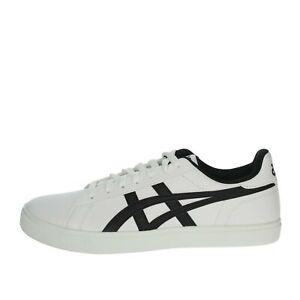 Sneakers bassa Uomo Asics Pelle sintetico Bianco/nero 1191A165