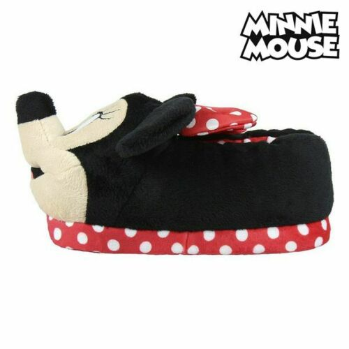 Pantofole Per Bambini 3d Minnie Mouse Rosso