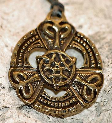 Amulett Messing TRISKEL DER KELTEN Talisman