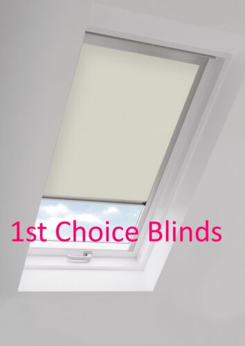 BEIGE Blackout Roof Roller Blind for FAKRO Windows Code 5