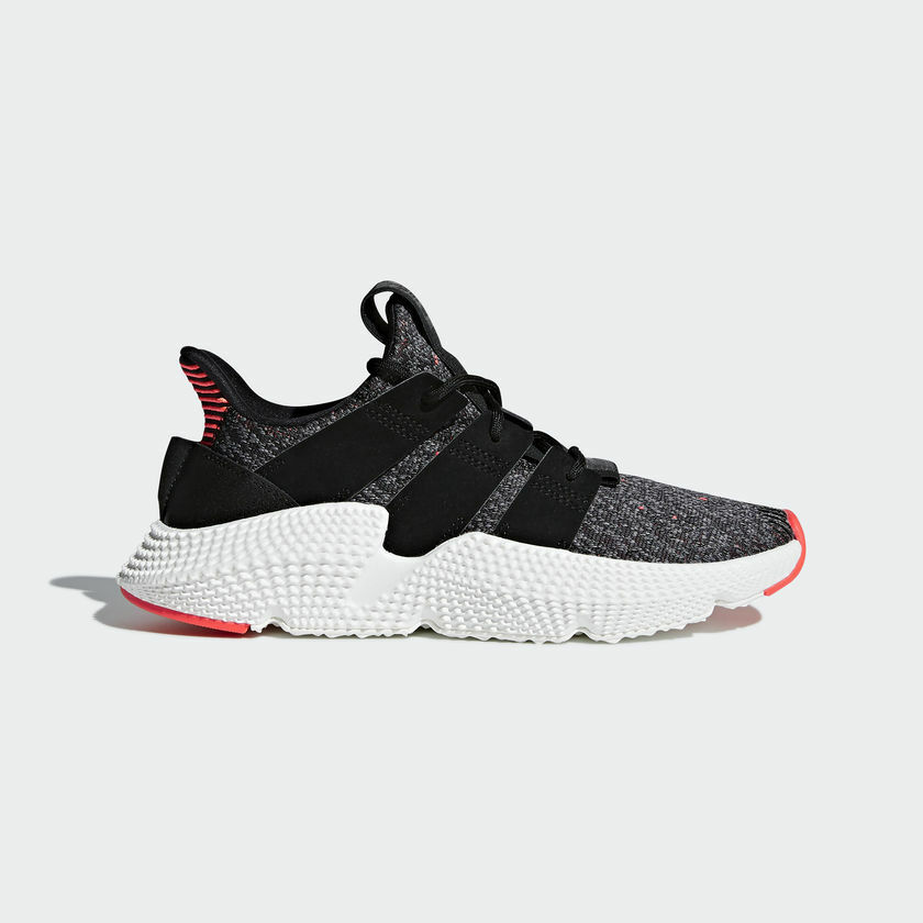 {AC8509} WOMEN'S ADIDAS ORIGINALS PROPHERE SHOES BLACK/SOLAR RED *NEW!*