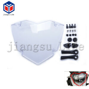 For BMW R1200 GS LC Adventure Transparent Headlight Guard Headlight Protector