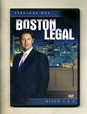 BOSTON LEGAL - STAGIONE 2 - DISCO 1 E 2 # 20th Century Fox Ent. DVD-Video 2005