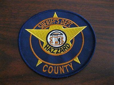 The Dukes of Hazzard James Best Sheriff Rosco P. Coltrane Patch HOT PURSUIT