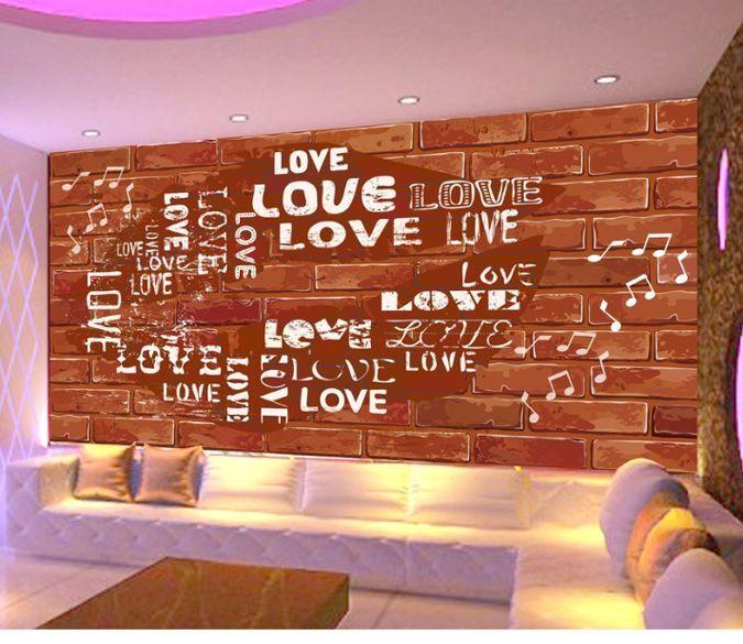3D Aimez Mur 113 Photo Papier Peint en Autocollant Murale Plafond Chambre Art