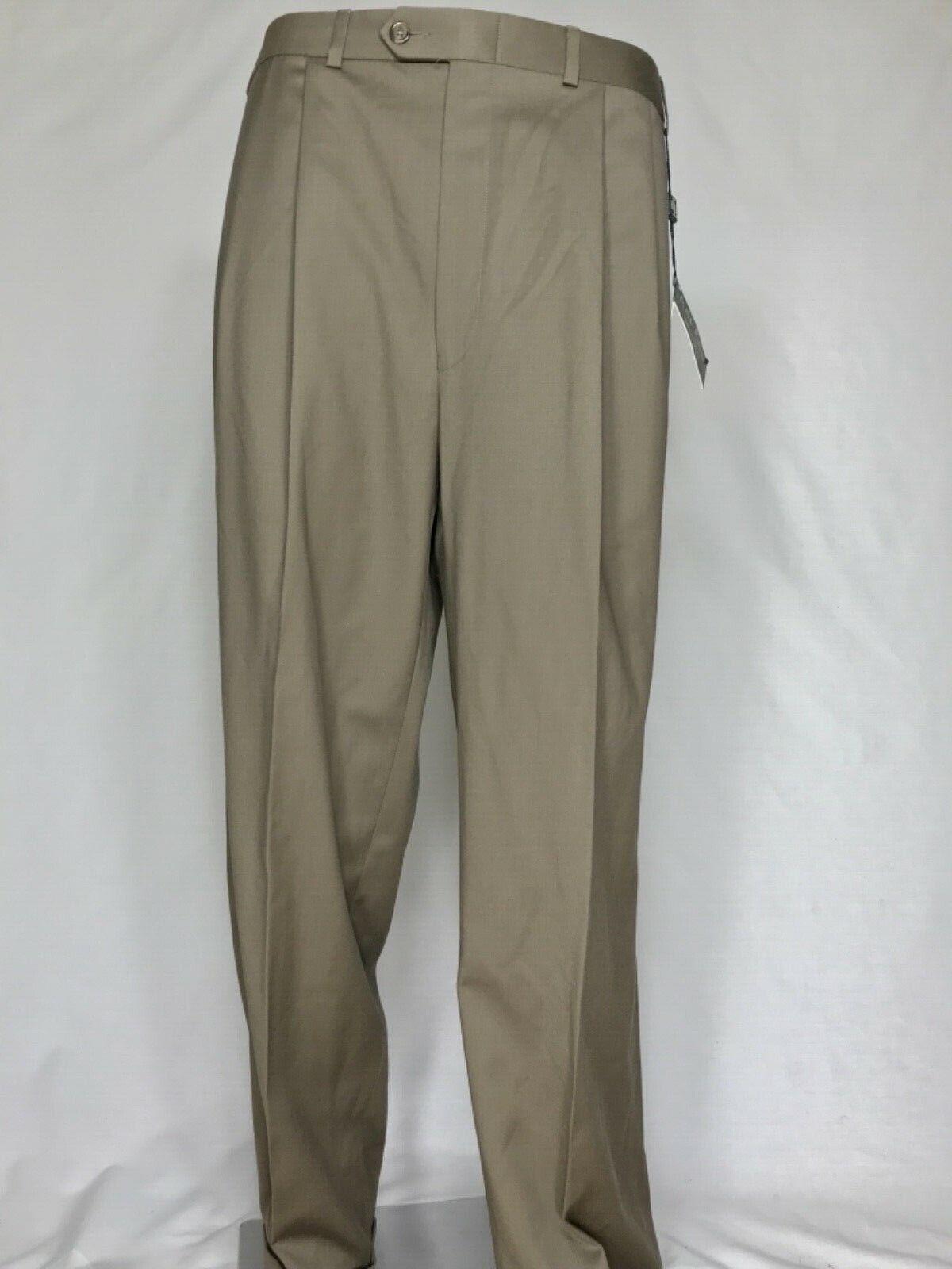 3204 NWT RALPH LAUREN Mens 36W 32L Suit Dress Pants Trousers Total Comfort Wool