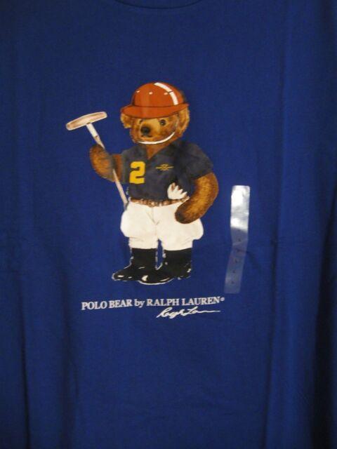 29376a44b Polo Ralph Lauren LIMITED EDITION Polo Bear Tshirt NWT Polo Player 100%  Cotton