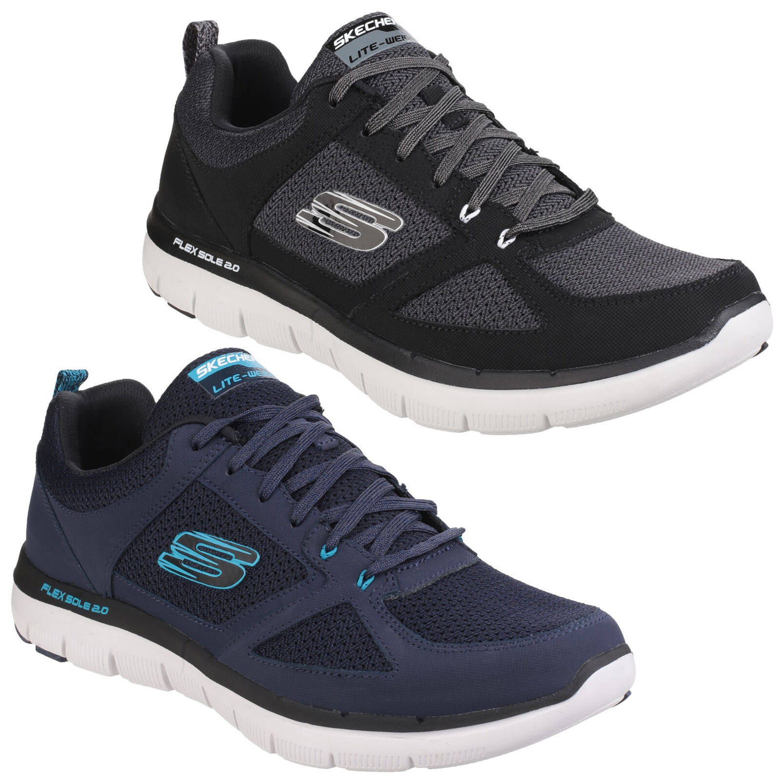 Skechers Flex Advantage 2.0 Mens Athletic Memory Foam Trainers shoes UK6-12