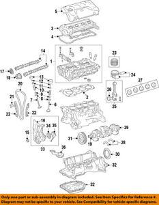toyota oem 10 15 venza engine valve cover 126010v030 ebay Boxster Engine Diagram image is loading toyota oem 10 15 venza engine valve cover