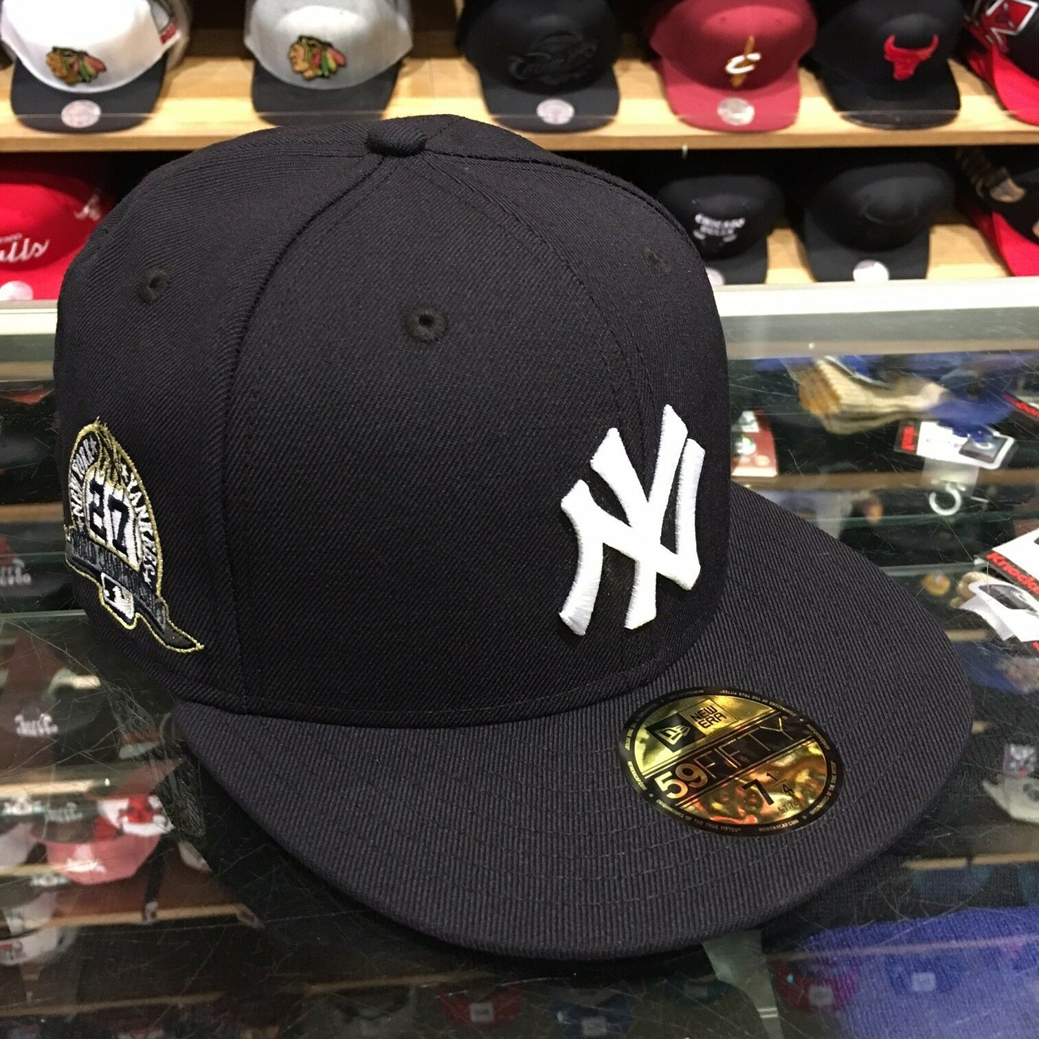 15fb0b85ab9 ... new zealand new era new york yankees fitted hat cap championships 27  world series championships cap