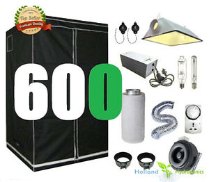 Image is loading 600w-Cool-Vent-Ventilation-FanSystem-Grow-Tent-Hydroponic-  sc 1 st  eBay & 600w Cool Vent Ventilation FanSystem Grow Tent Hydroponic Grow Kit ...