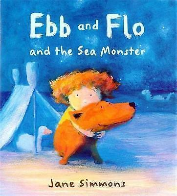"""AS NEW"" Ebb And Flo And The Sea Monster, Simmons, Jane, Book"