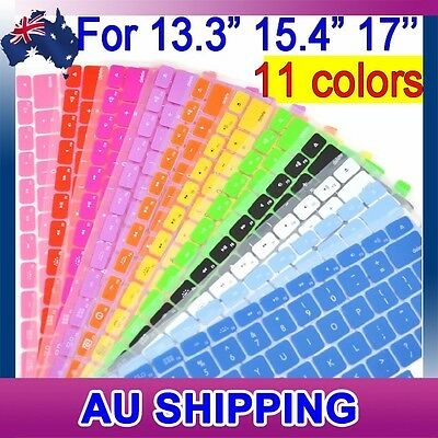 "MacBook Keyboard Cover Protector for Apple MacBook Pro Air 13.3"" 15.4"" 17"""