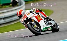 Marco Simoncelli San Carlo Honda Gresini Moto GP Brno 2010 Photograph