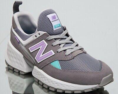 Negligencia Interesar contar hasta  New Balance Womens 574 Low Top Grey Geometric Lifestyle Sneakers WS574-PRC  | eBay