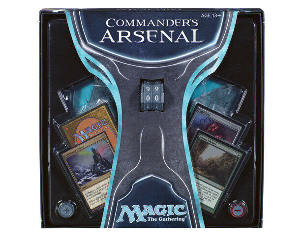 1x 1x 1x  Commander's Arsenal  Box Set New Special Products - MTG 33acfa