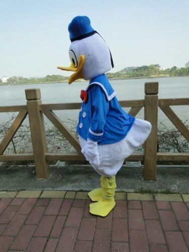 Donald and Daisy Duck Adult Mascot Costume Party Clothing Fancy Dress Hot Sale
