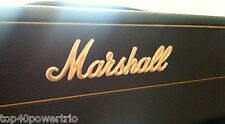 "Marshall GOLD  6"" Replacement Logo for  Amps!"