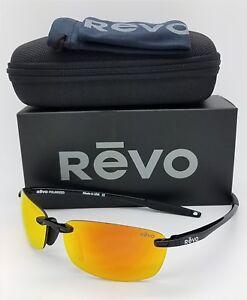 NEW-Revo-Descend-E-sunglasses-RE-4060-01-OG-64mm-Black-Solar-Orange-Polarized