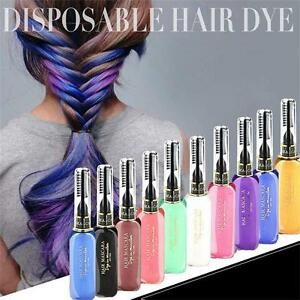 NEW Temporary Color Hair Dye Mascara Hair Chalk Non-toxic Hair Dye ...