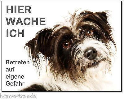 Haustierbedarf Terrier-hund-aluminium-schild-0,5-3 Mm Dick-türschild-warnschild-hundeschild Zur Verbesserung Der Durchblutung