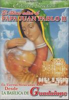 Sealed - El Ultimo Adios Al Papa Ii Dvd En Tierras Mexicanas Desde La Basilica