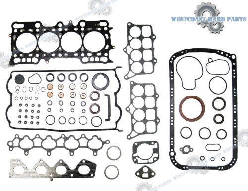 BRAND NEW 93-96 Honda Prelude V-Tec 2.2 DOHC 16V H22A1 Full Engine Gasket Set