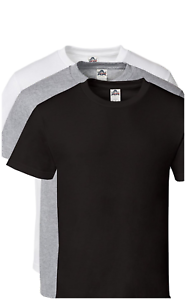 4837cf2a049 3 Pack - AAA Alstyle T-Shirts Plain Cotton Assorted Color Blank Tees ...