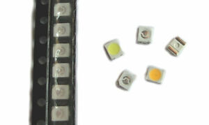 50x-SMD-LED-PLCC-2-3528-1210-warm-white-weiss-blau-rot-gruen-gelb-amber