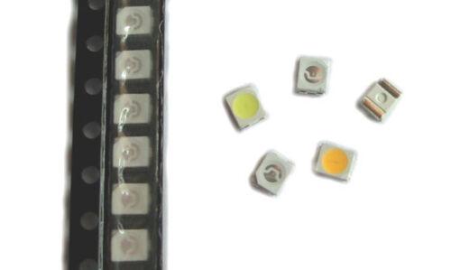 weiß blau 100x SMD LED PLCC-2 3528 1210 gelb warm white grün rot