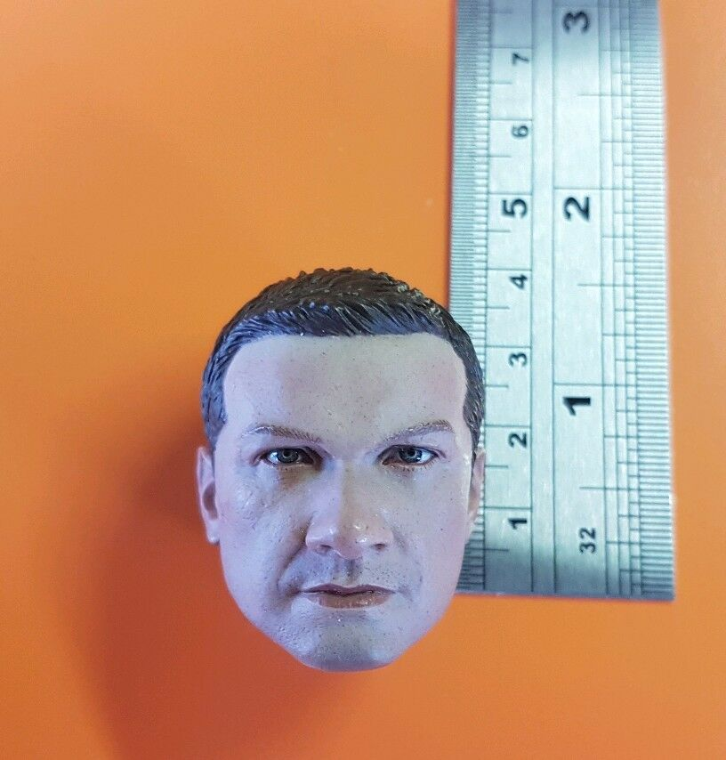 1 6 scale HOT TOYS The Avengers Hawkeye 's custom head for 12  figure