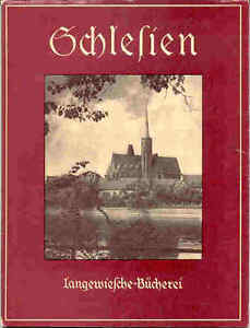 Schlesien-Heft-Verlag-Langewiesche-ca-1950-sehr-guter-Zustand