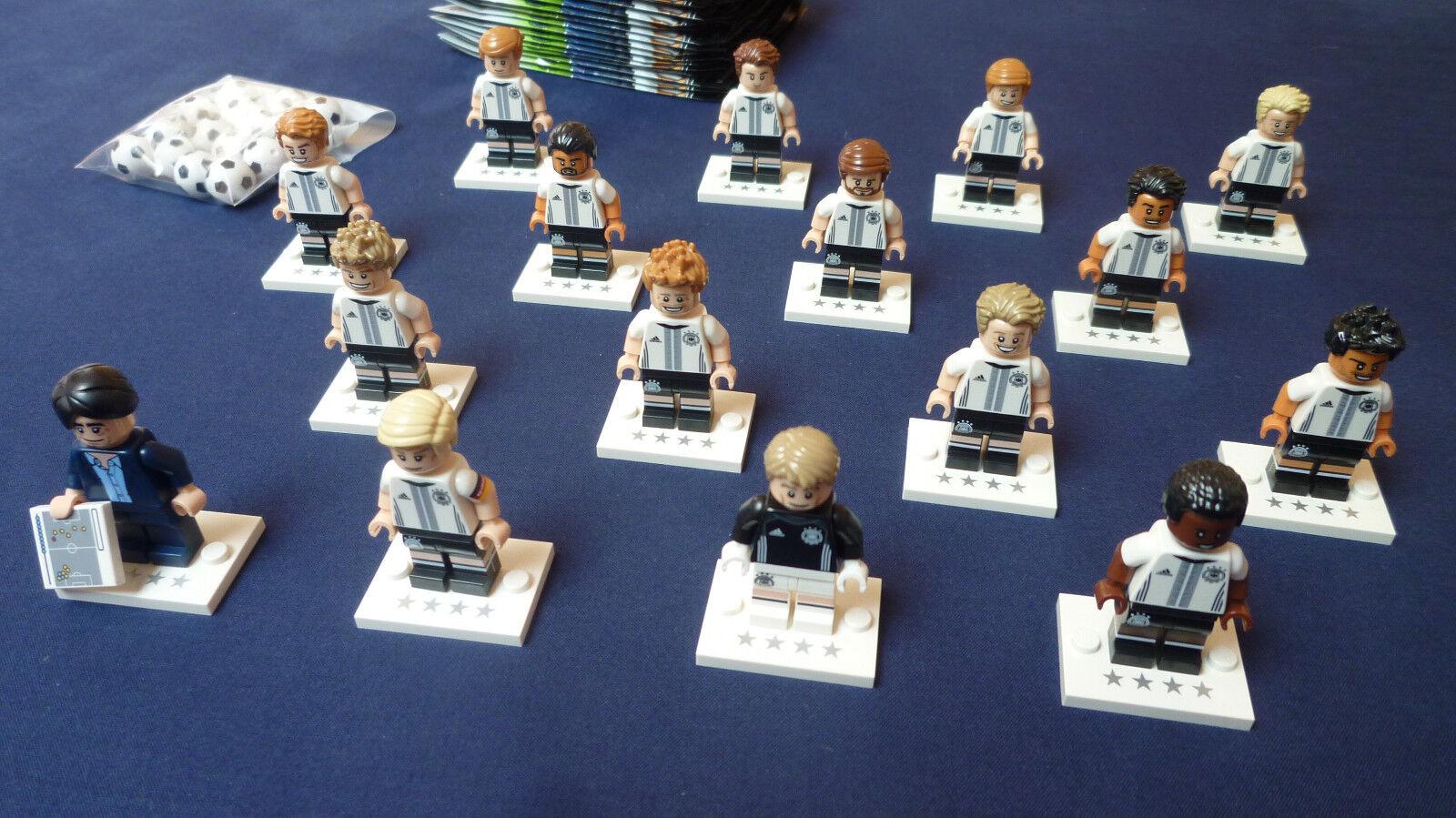 LEGO®: DFB - 16 Figuren - KOMPLETT  -