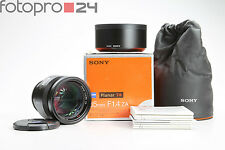 Sony Zeiss planar t * 85 mm f 1.4 za (sal85f14z) + Top (215763)