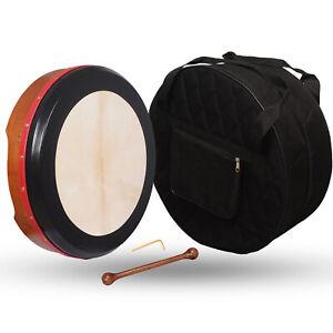 Muzikkon 45.7cmX10.2cm Irisch Bodhran Verstellbare Rot Zeder , Bodhran, Trommel