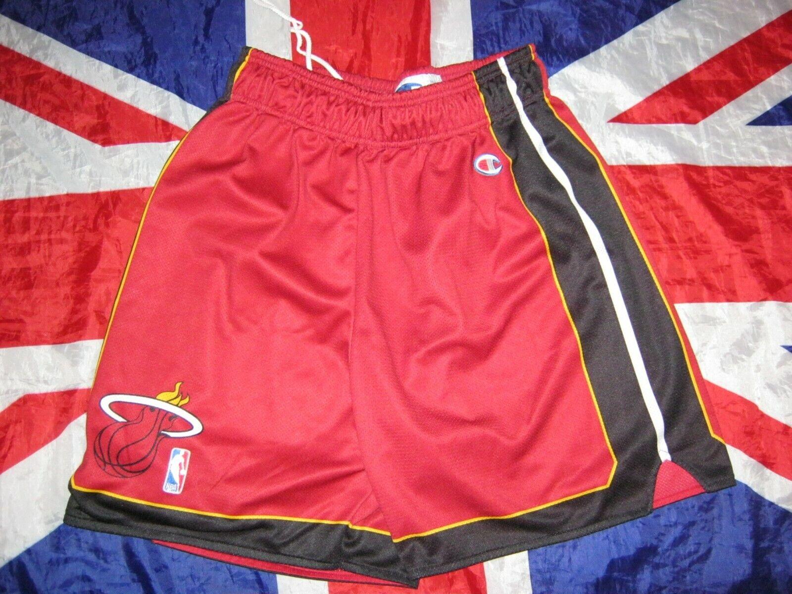 Vintage NBA Basketball Miami Heat Cmampion Shorts Size L