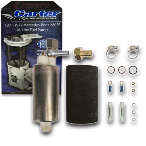 Carter In-Line Fuel Pump for 1971-1972 Mercedes-Benz 280SE 2.8L L6 th