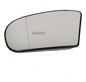 Lh side mirror heated glass for mercedes 01 07 e c class for Mercedes benz c300 side mirror glass