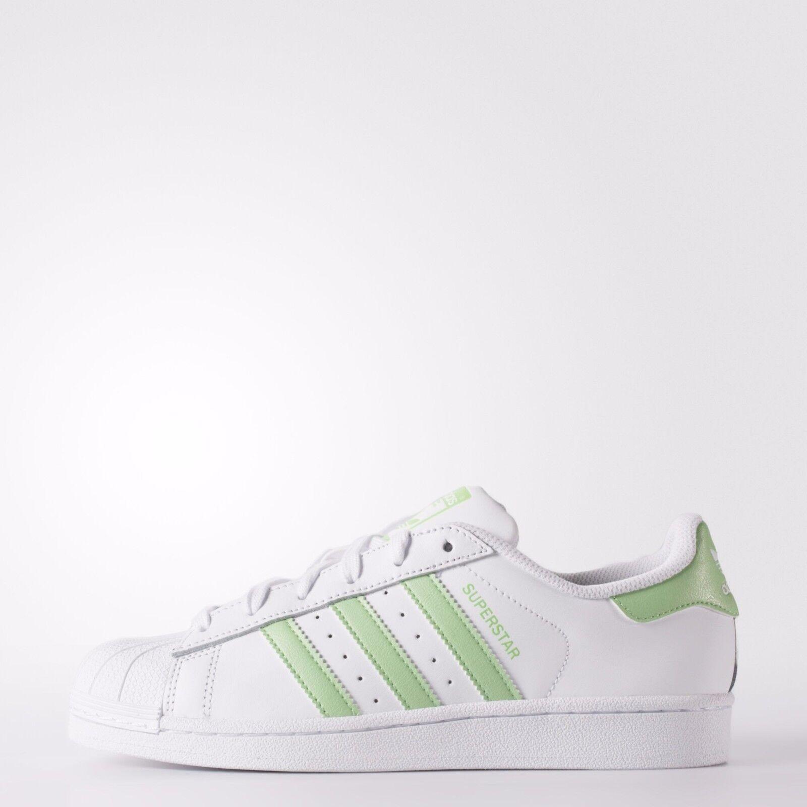 Adidas Originals Superstar BB5451 Women's Supgrn White Green Authentic Rare
