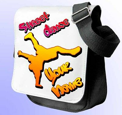 Intelligente Street Dance Break Dance Personalizzato Spalla/borsa A Mano * Scelta Di Colori 2 *-mostra Il Titolo Originale Forma Elegante