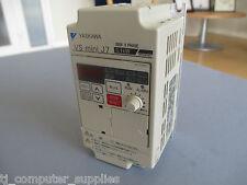 Yaskawa 0.1kW Inverter VS mini J7 CIMR-J7AA20P1 AC Drive 200V 3 Phase