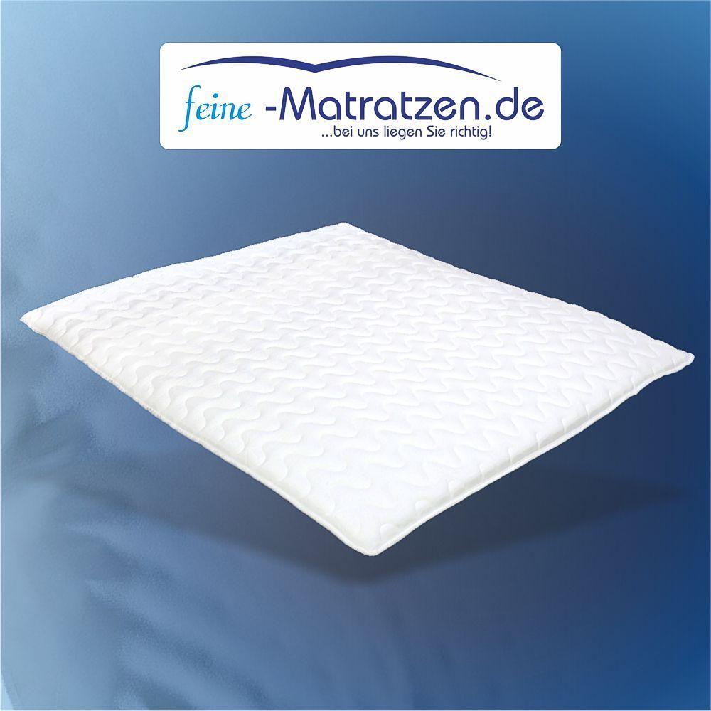 Matratzen-Komfort-Topper 180x200cm Kaltschaum, ideal für Boxsprinbetten