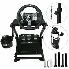 Driving Racing Simulator Cockpit Steering Wheel Stand For Logitech G920 Ps4 T500