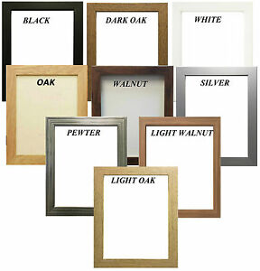 Picture Frame Poster Photo Frame Wooden Effect Various Sizes & Colors Available