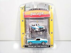 Greenlight-Muscle-Car-Garage-Custom-1967-Ford-Mustang-GT-1-64-Scale-NEW-NOC