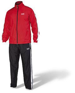 Paffen-Sport-Team-II-Trainingsanzug-Rot-100-Polyester-Boxen-Kickboxen-MMA